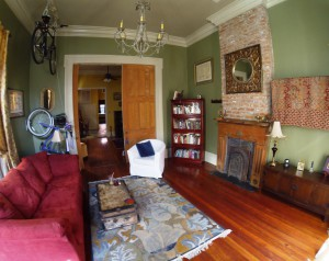 The Parlor - before