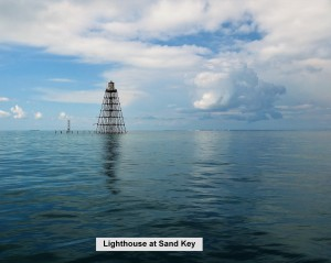 Lighthouse at Sand Key