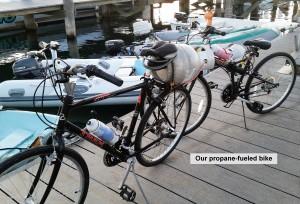 propane bike
