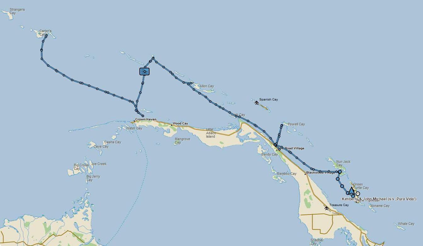 Map Carters 2 Green Turtle