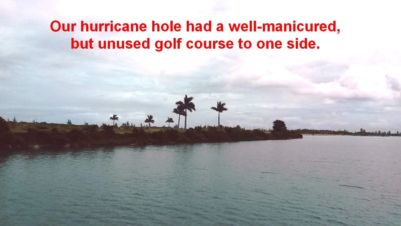 hurricane hole golf course