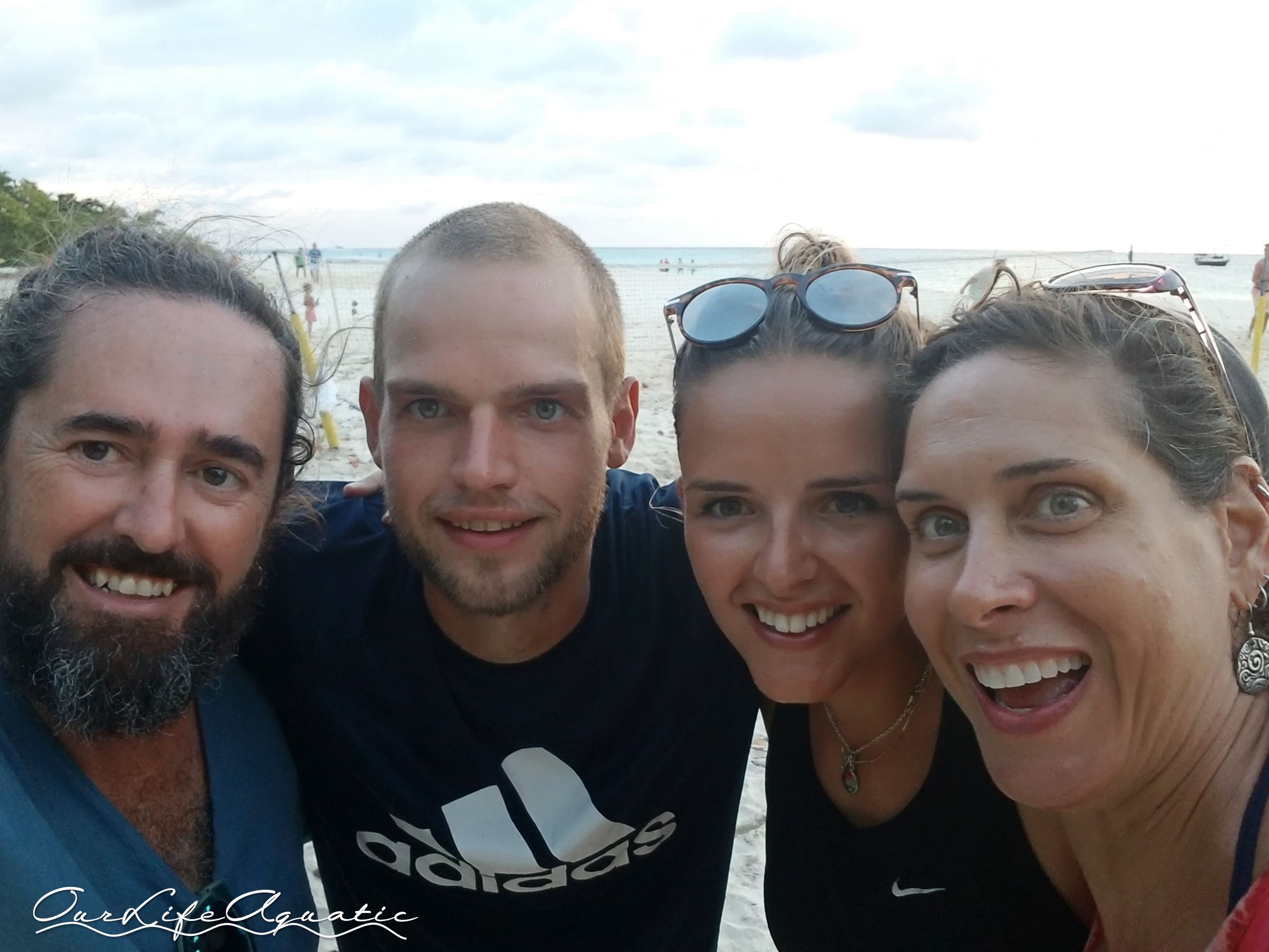 We had so much fun with Daan and Janneke