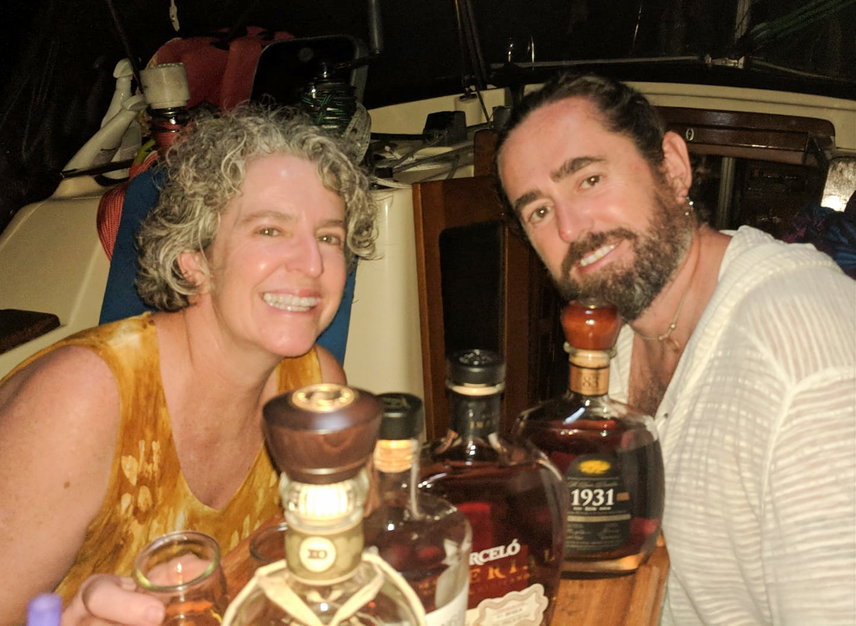 Au rum tasting
