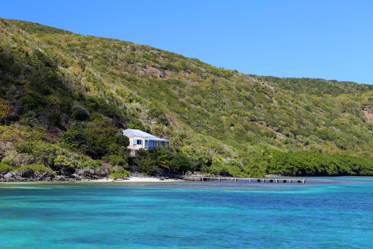 """Everytime we come to Cam Bay we see this house and think """"we could live here!"""""""