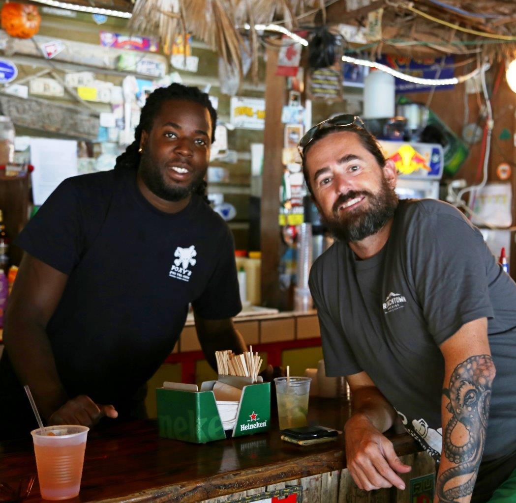 Leon the amazing photographer...and a damn good bartender too!