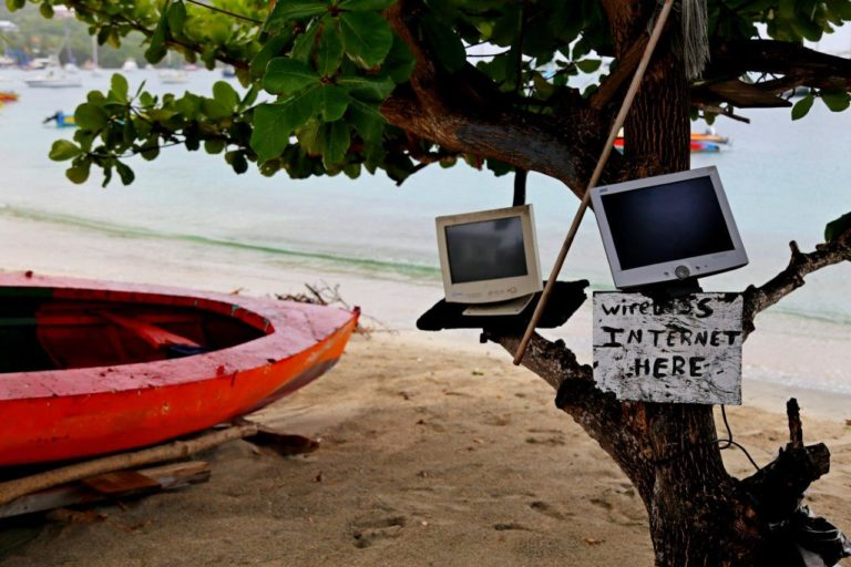 Look, free Wi-Fi!