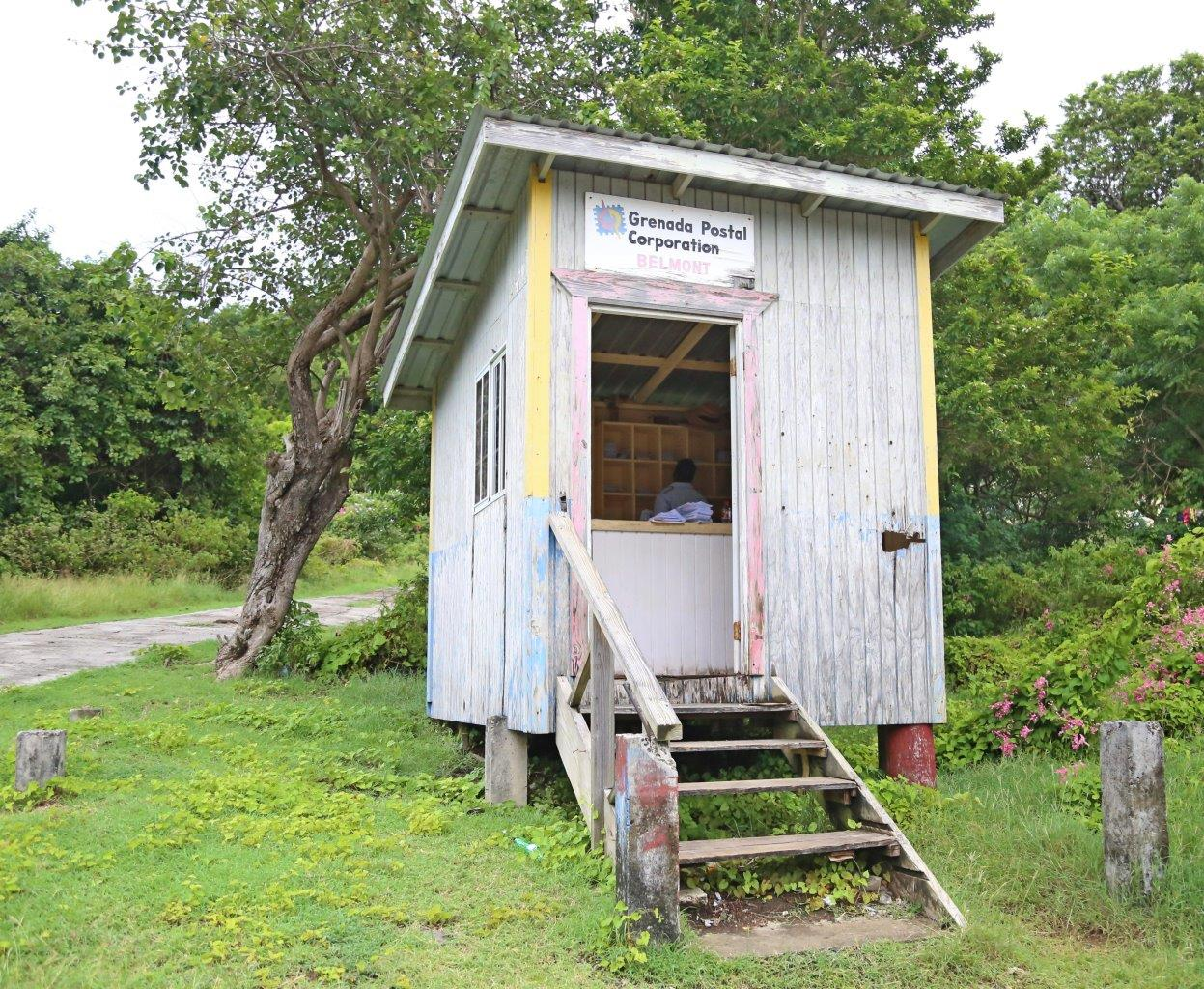 World's smallest Post Office (It's in the Guinness Book of World Records)