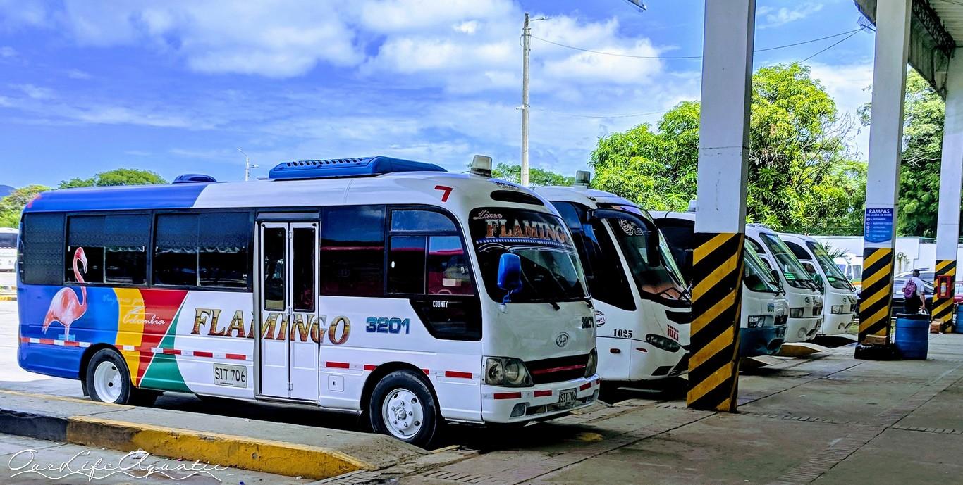Bus to Cartagena