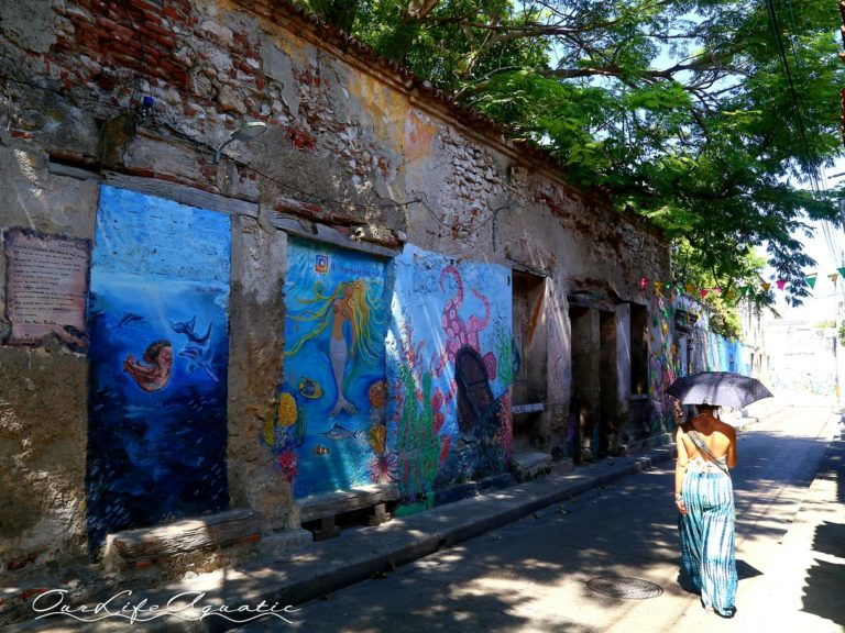 Street art in the Getsemani district