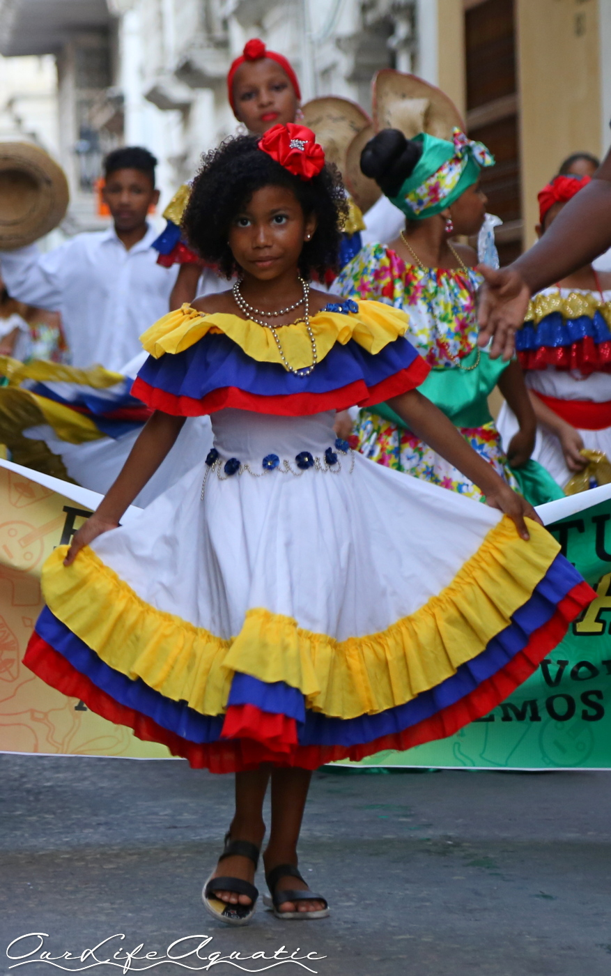 Traditional Colombian colors