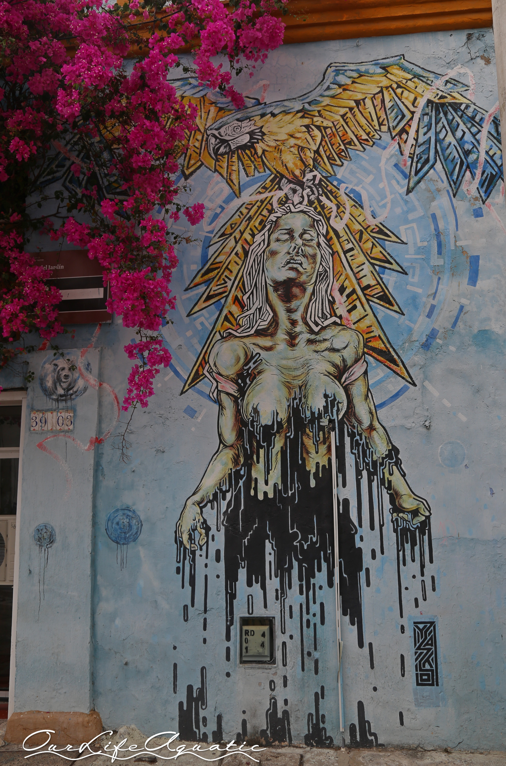 Love the graffiti