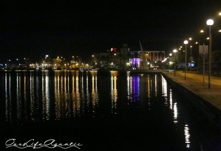 Willemstad at night