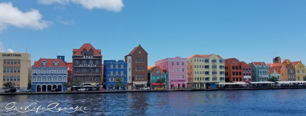The colorful waterfront of Willemstad
