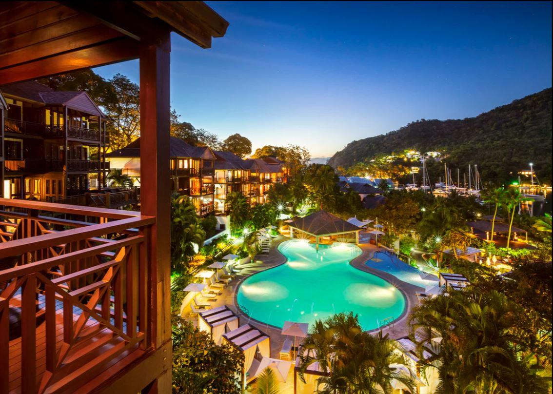 Our favorite pool (Photo Credit: Capella Resort)