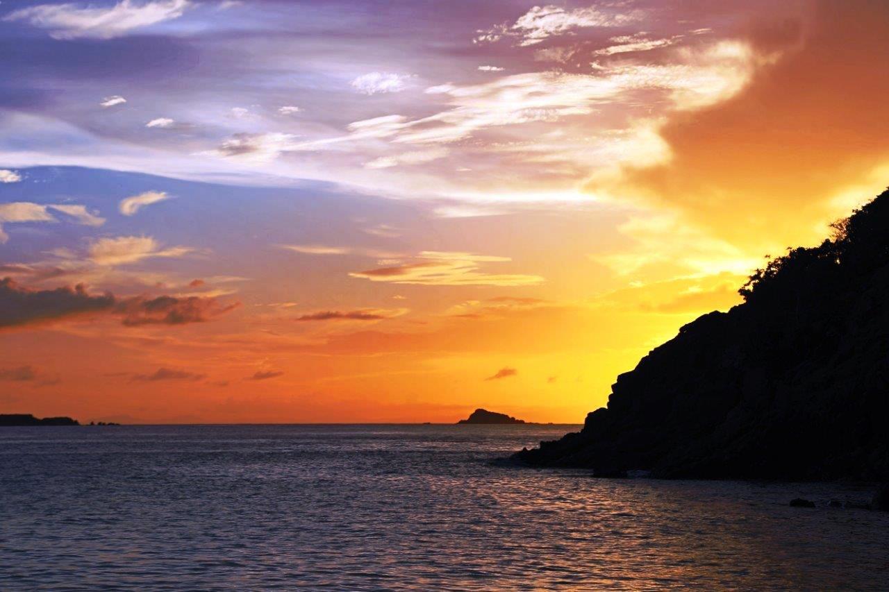 Luis Peña sunset