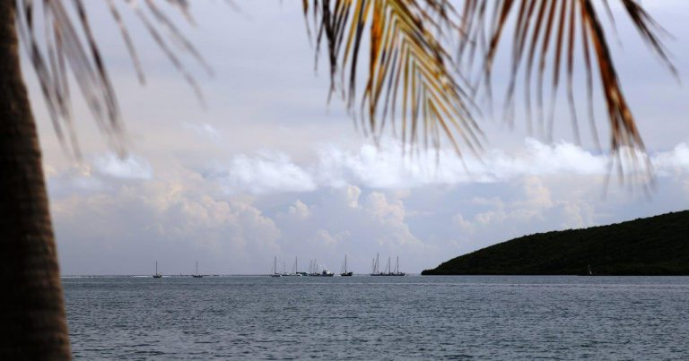 Dakity Harbor - Our Home while in Culebra