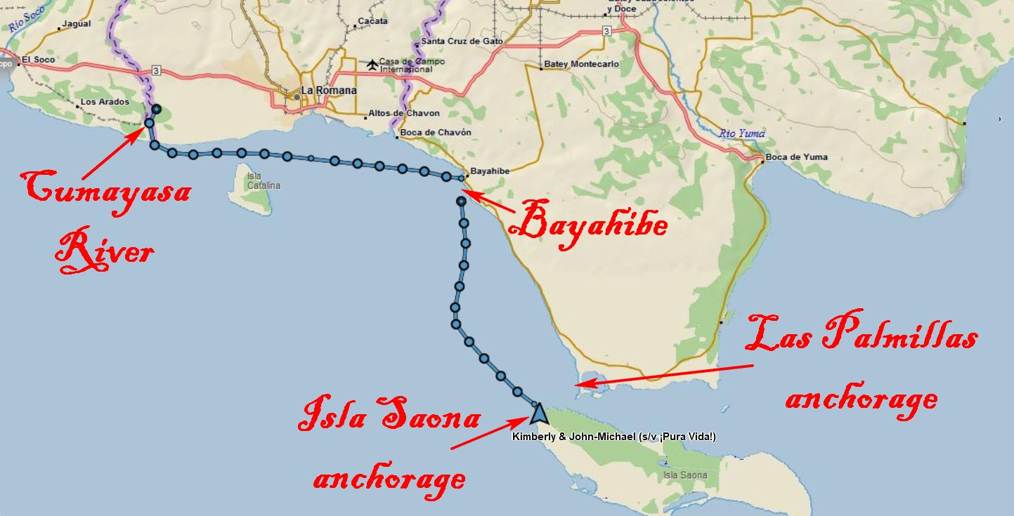 Cumayasa to Isla Saona