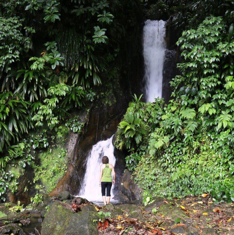 Waterfalls were everywhere!
