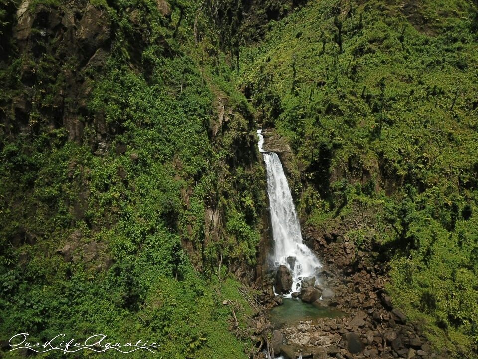 "The smaller ""Mamma"" waterfall"