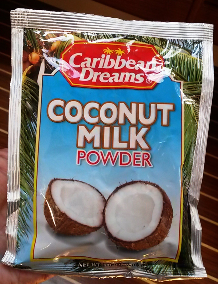 One of my favorite finds, until I realized coconut milk is available EVERYWHERE