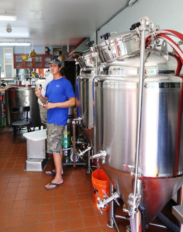 This tiny craft brewery is a must visit attraction in town