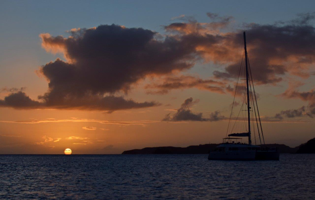 Sunset in Great Harbour (Photo credit: Ashley Hoover)
