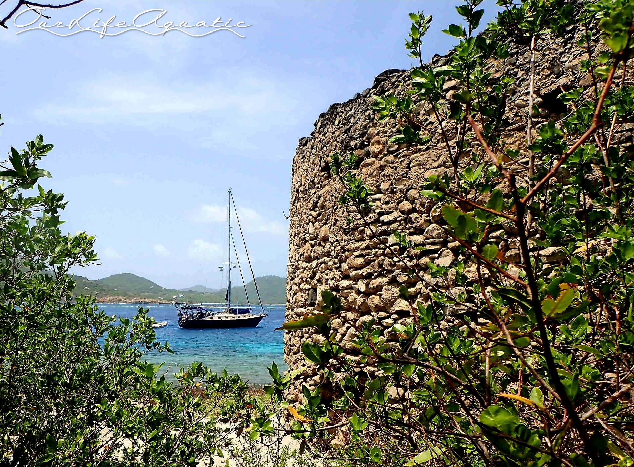 Our last secluded anchorage in Carriacou
