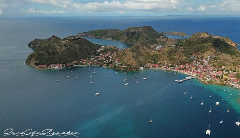 Bay in Terre-De-Haut, Guadeloupe