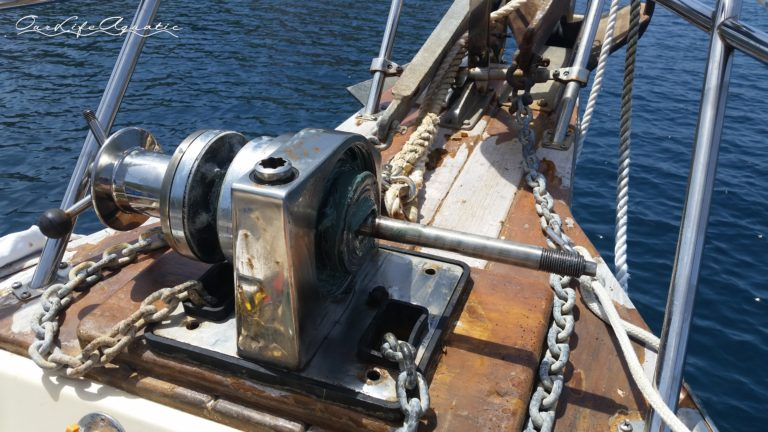 Boat maintenance never ends: I serviced the windlass