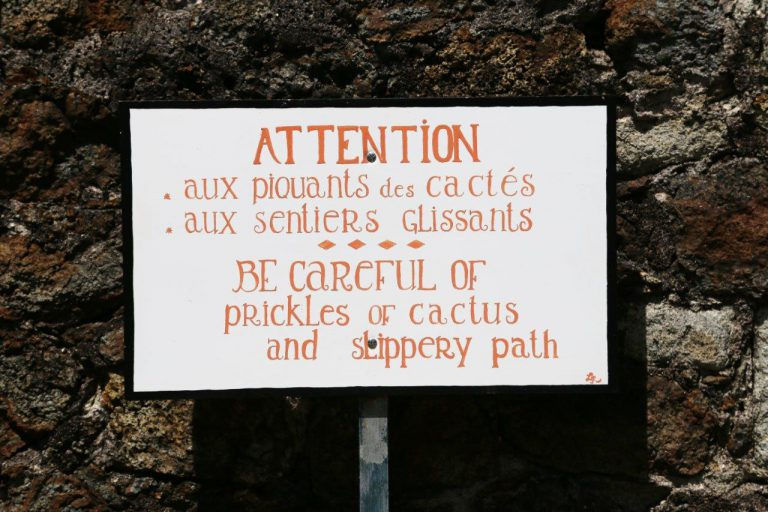 """Gotta watch our for those """"prickles"""""""