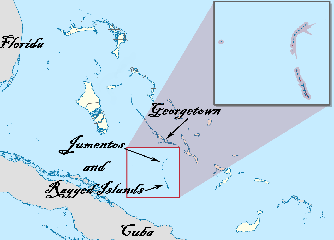 Jumentos & Raggeds map