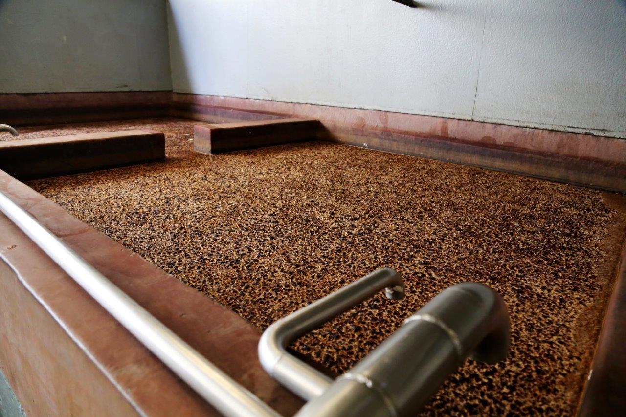 Open fermentation tank