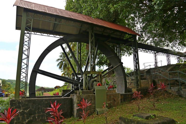 Original water wheel still works