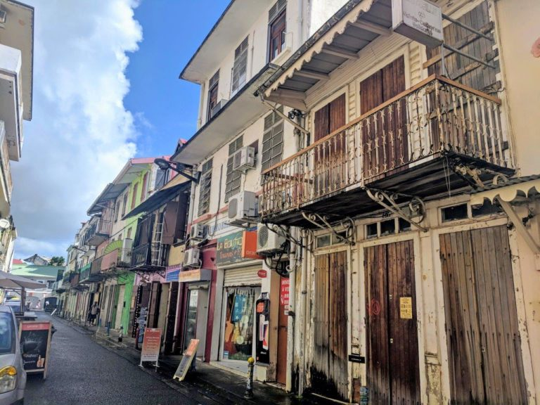 Fort de France reminds us of New Orleans