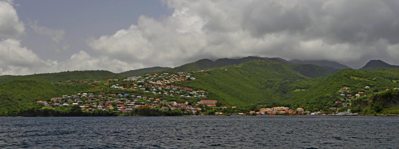 Western coast of Martinique
