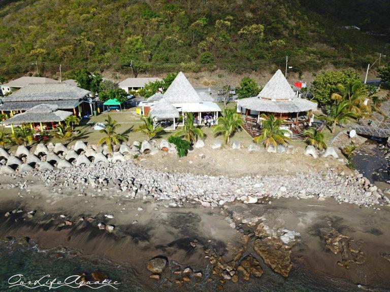Seaside eateries in Little Bay