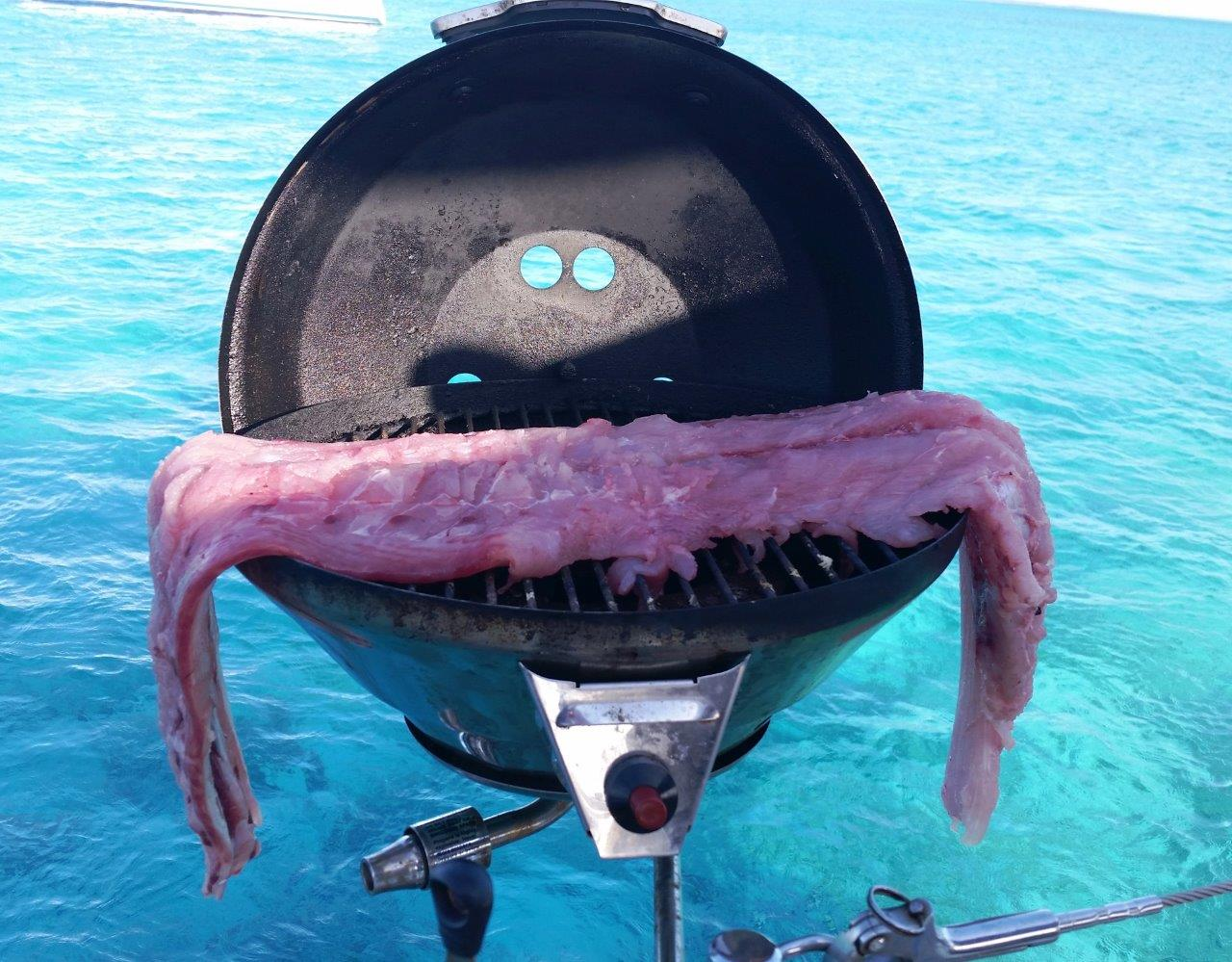 We're going to need a bigger grill.