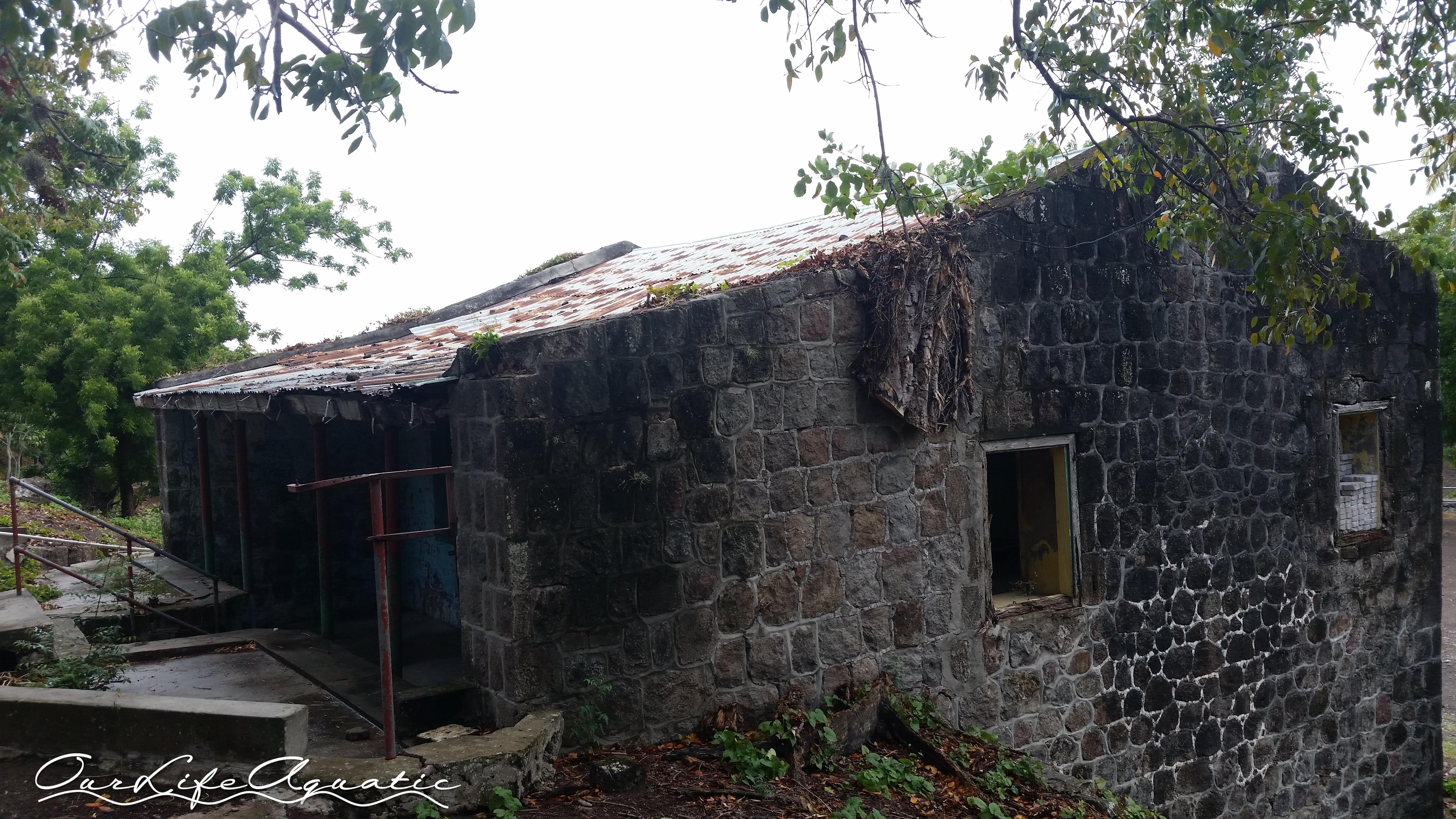 Old bathhouse ruins