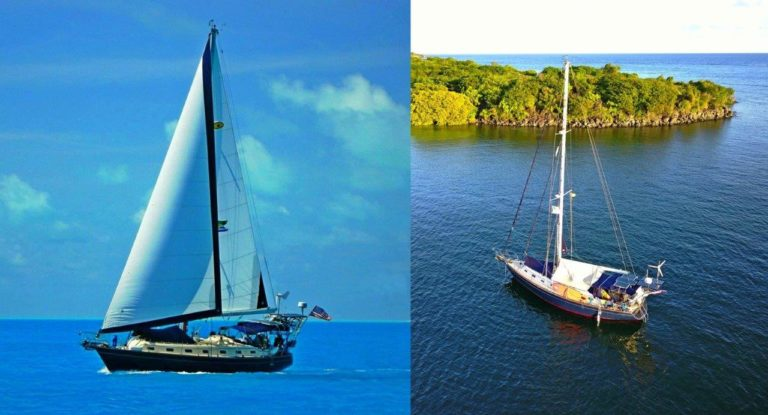 "¡Pura Vida! changes from sailing configuration to ""cocoon"" state for long stays"