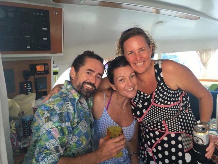 Party aboard Flip Flops