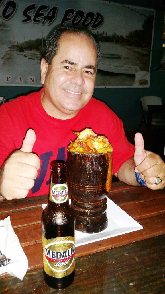Luis took us to his favorite mofongo joint.