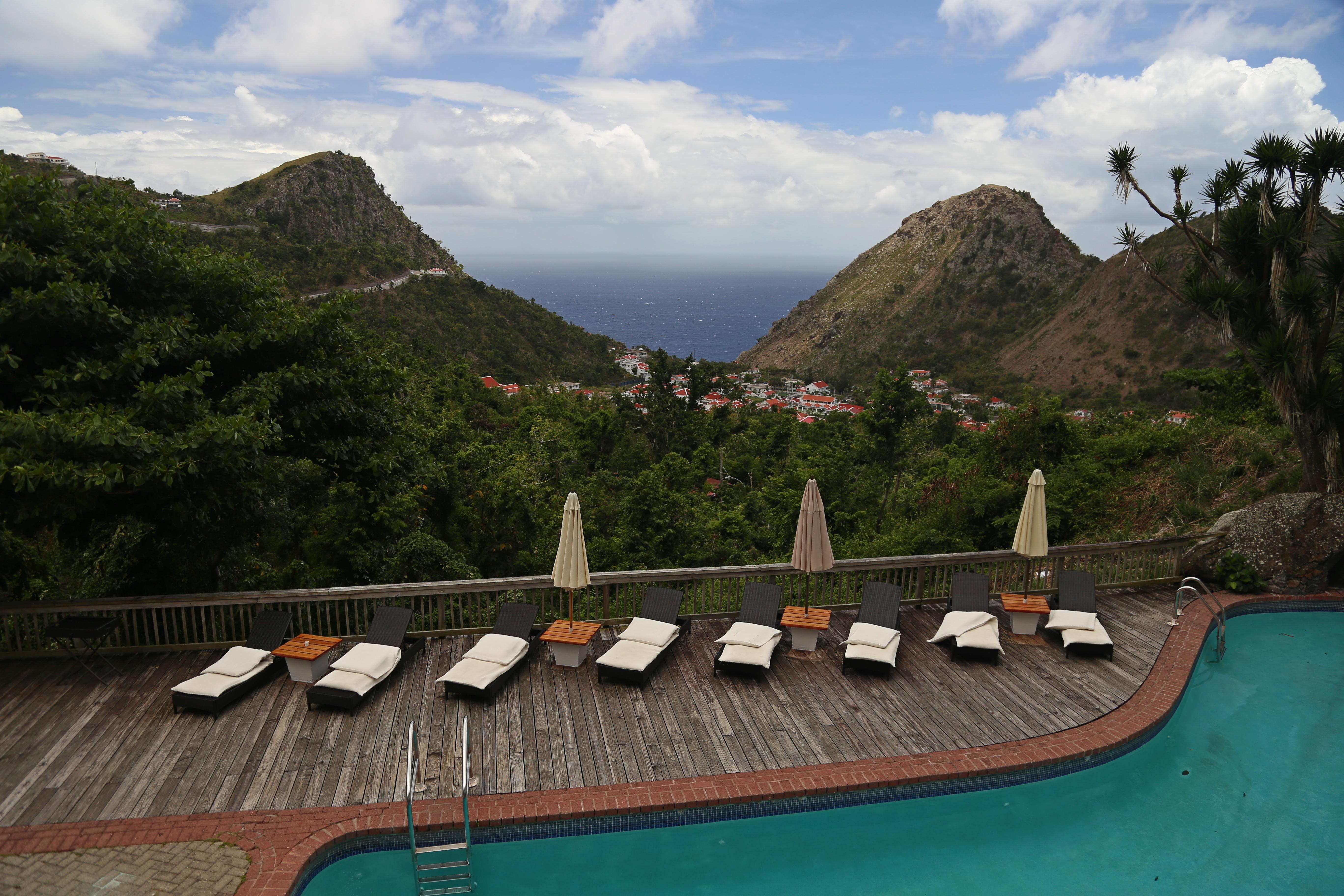 View from Queen's Garden Resort