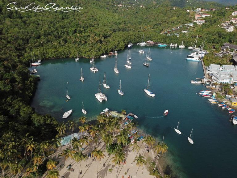 Cozy Marigot Bay, St. Lucia