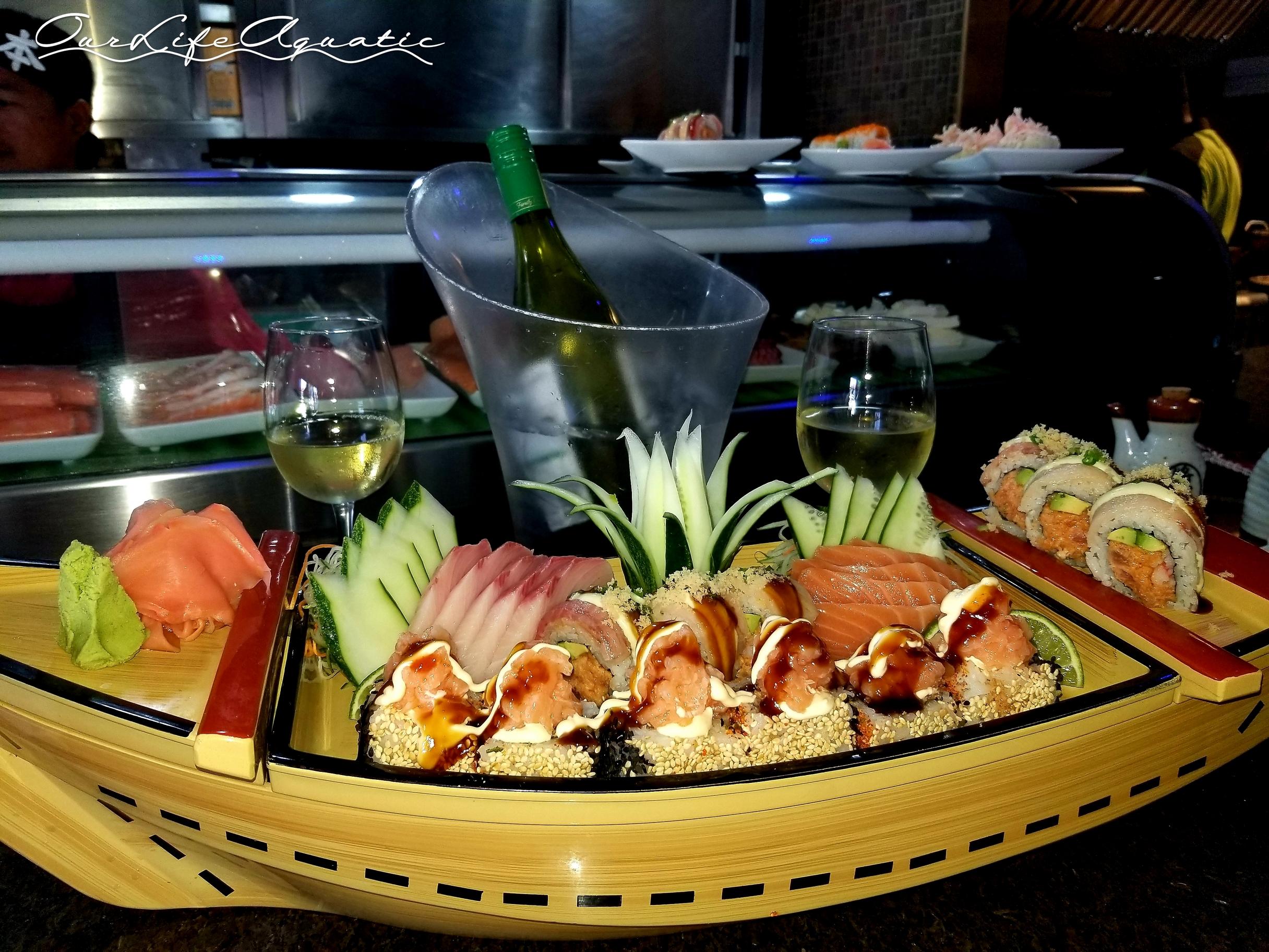 Best sushi in the Eastern Caribbean