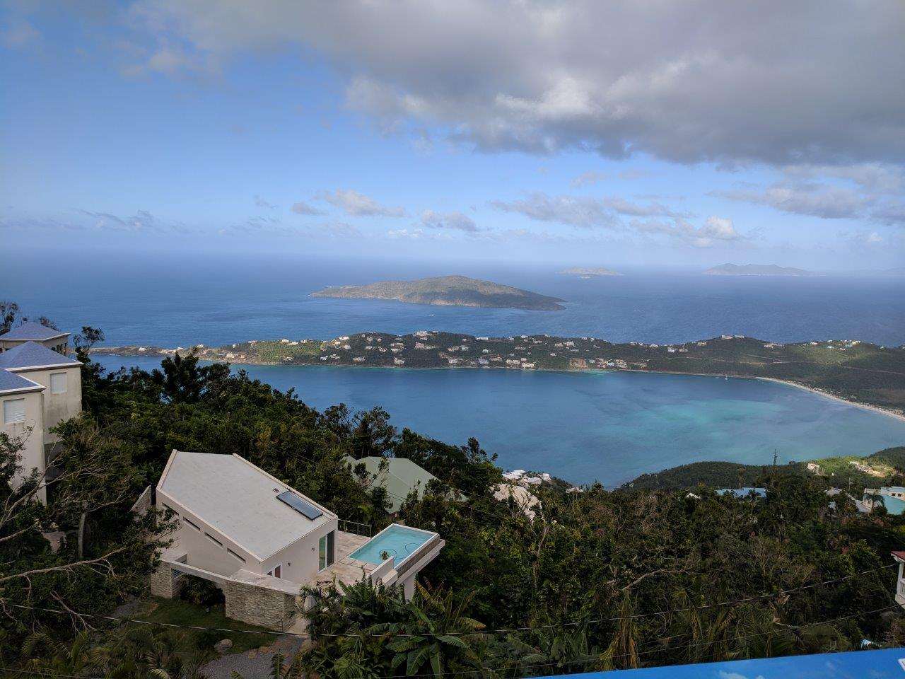 View from top of St. Thomas