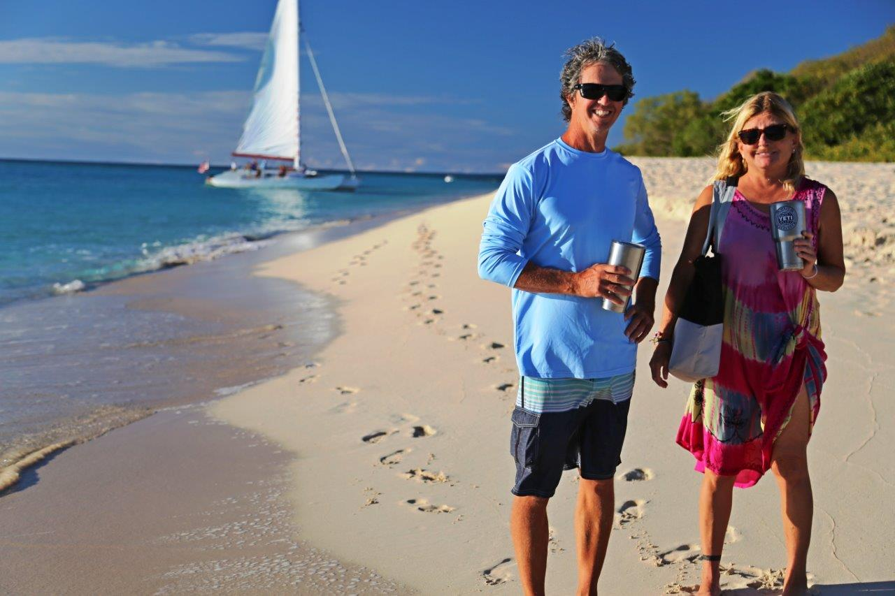 Our friends Will and Wendy on s/v Kailani