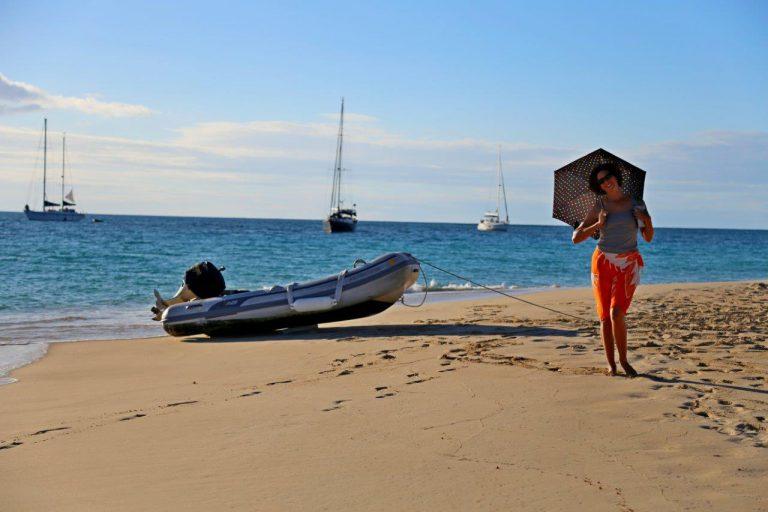 Buck Island beach