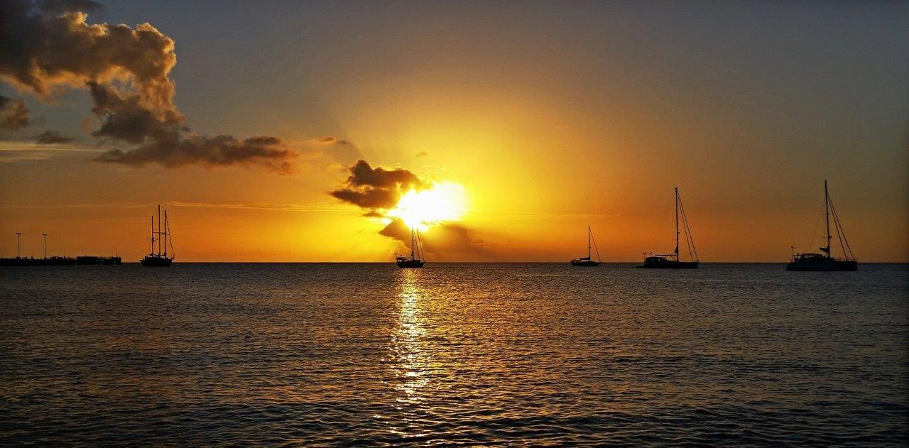 ¡Pura Vida! glowing in the setting sun