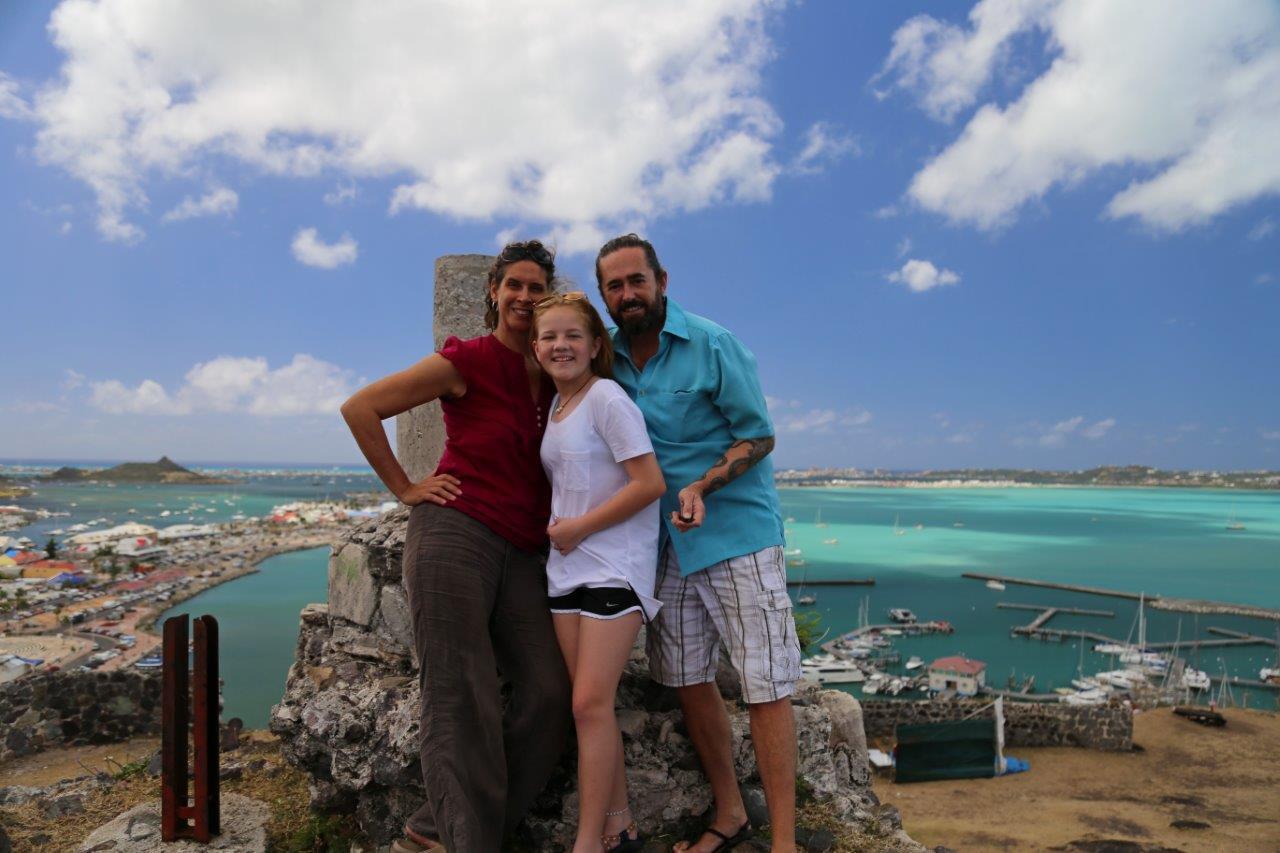 At Fort Louis overlooking Marigot