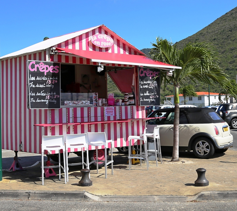 No proper French town is complete without a roadside crepe shack